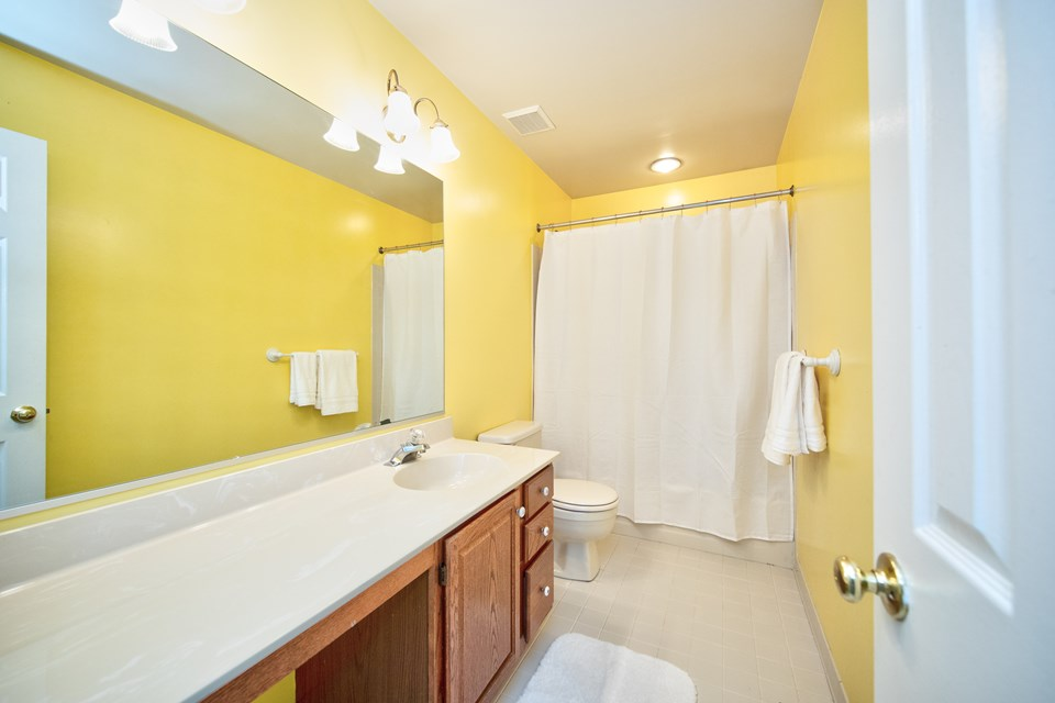 2nd full bathroom upper level